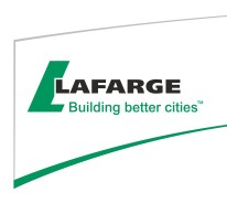 LAFARGE CANADA INC. - Lafarge Canada Inc launches new website